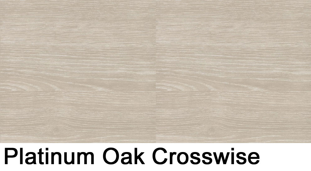 Platinum Oak crosswise laminate sample