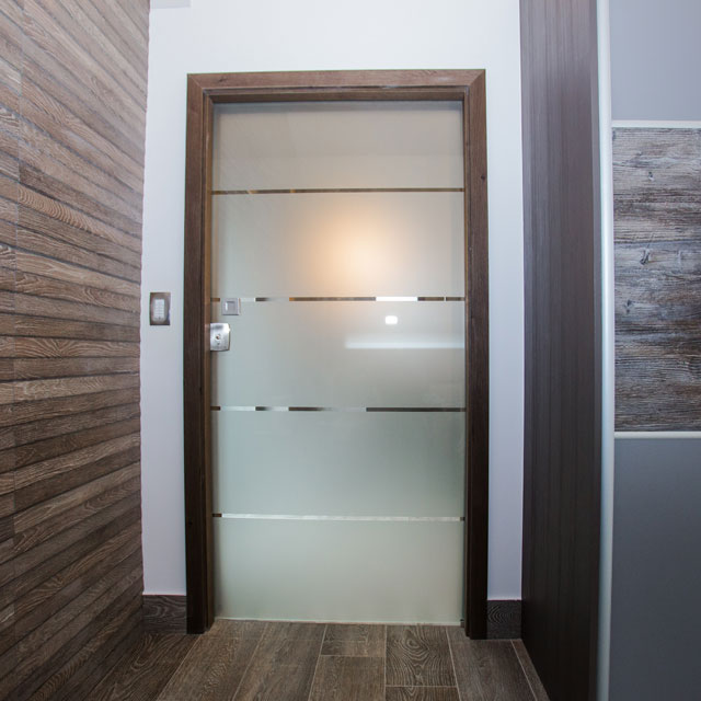 pocket sliding glass doors for bathroom