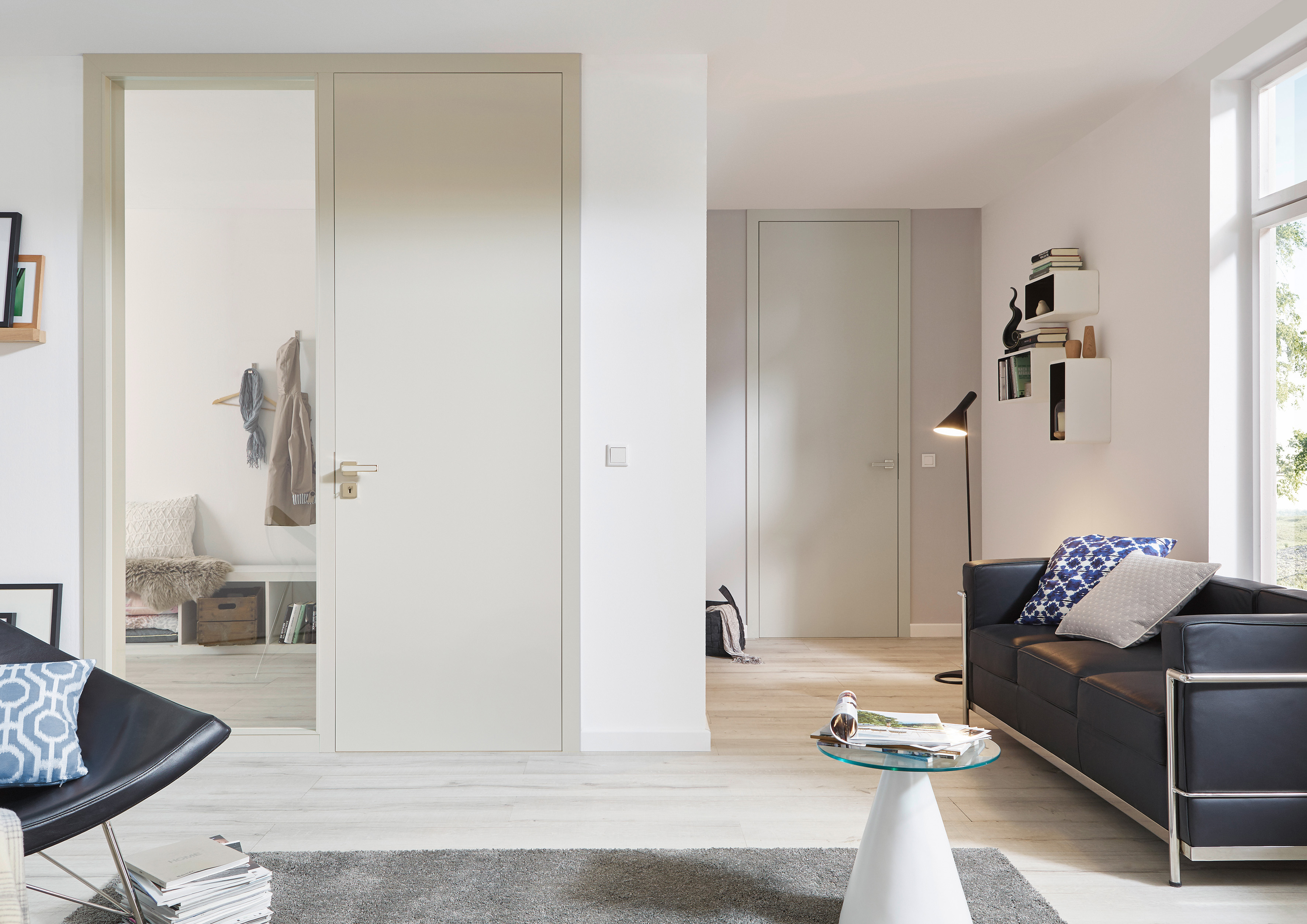 interior doors with glass panels