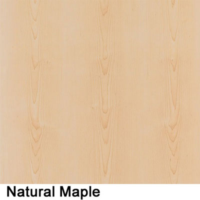 sample natural maple