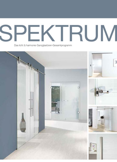 Spektrum Glass Door Catalogue
