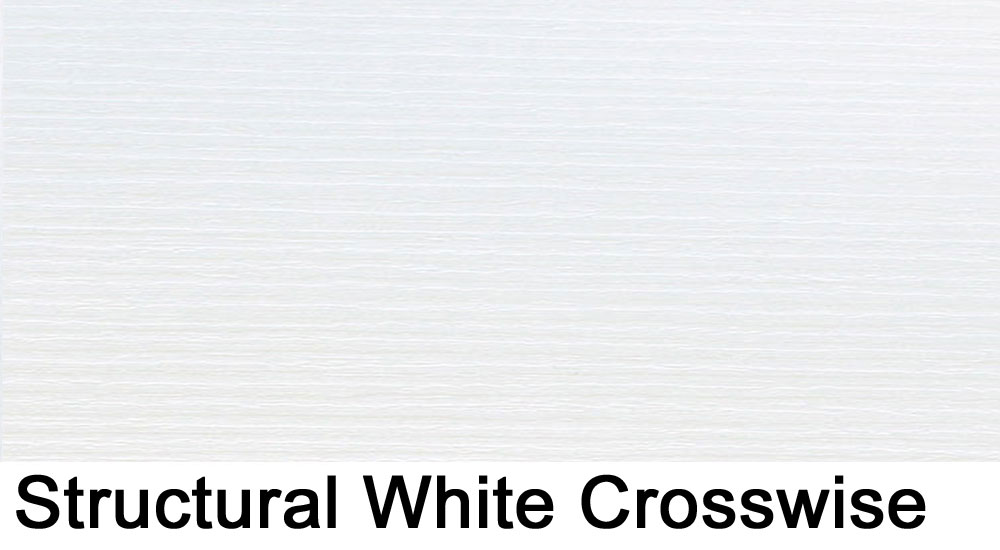 Structural White crosswise laminate sample