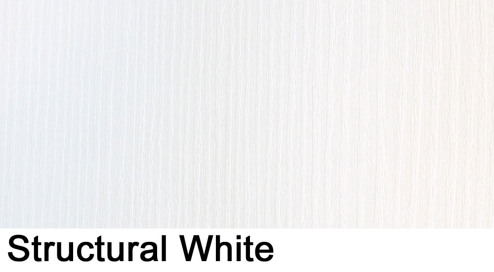 Structural White laminate sample