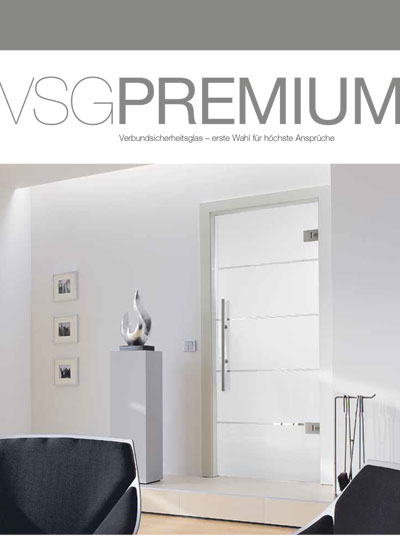 VSG premium glass door catalogue