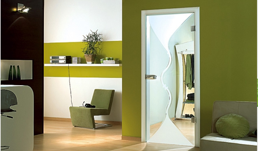 Torino Grooved Glass Door Design