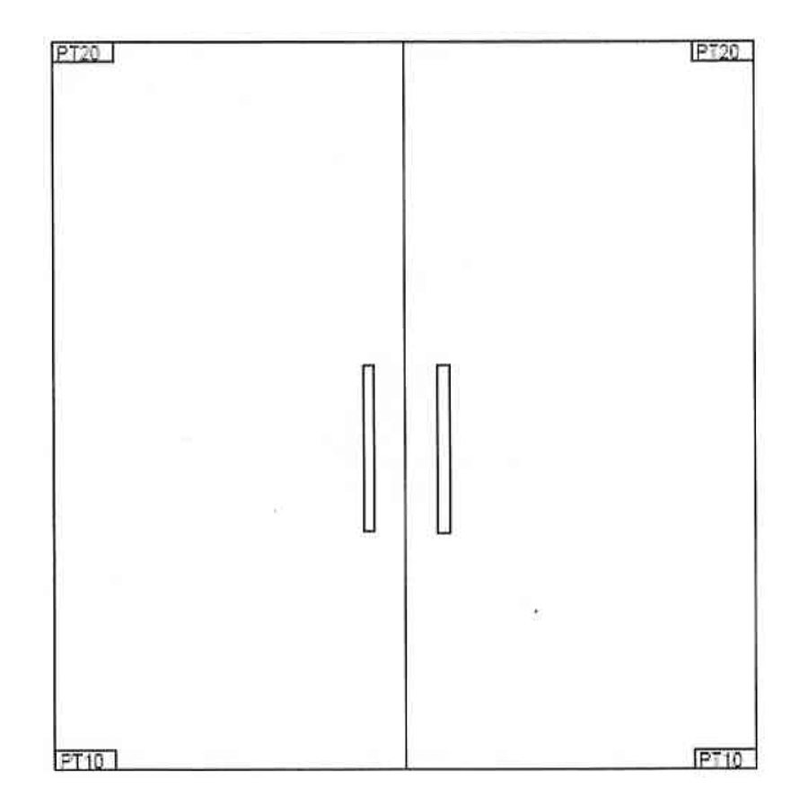 Double Swing Doors Stream Glass Door Design