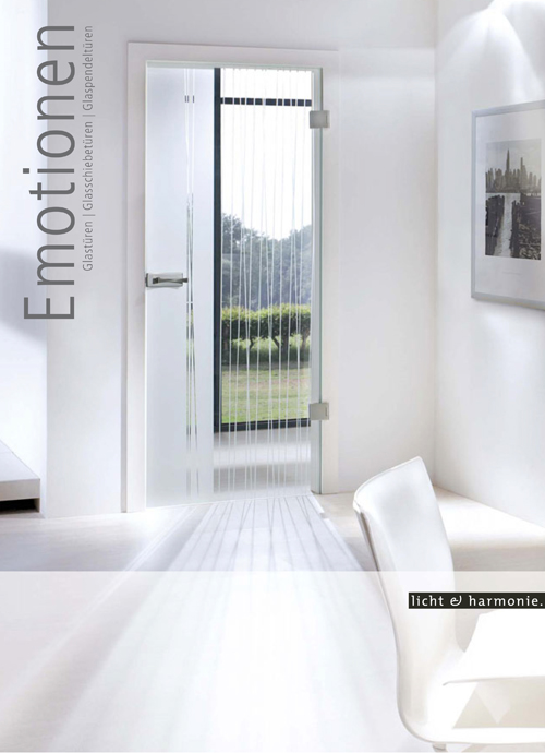 Glass Sliding Doors - Emotionen
