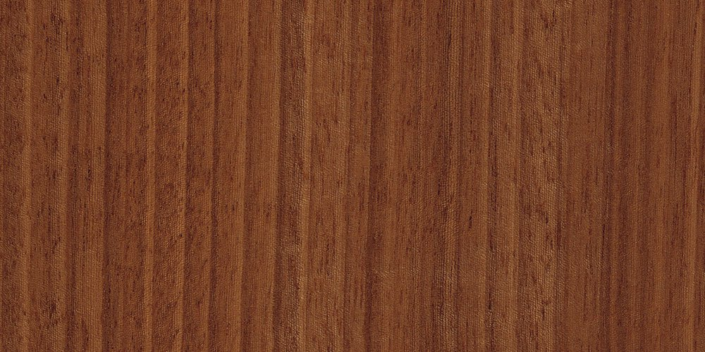 Macore real wood veneer sample