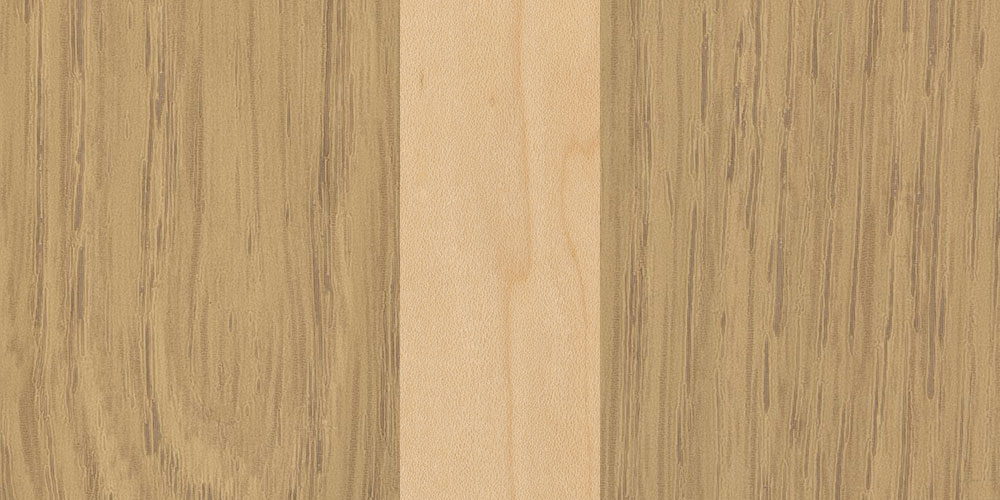 oak maple combination real wood veneer sample