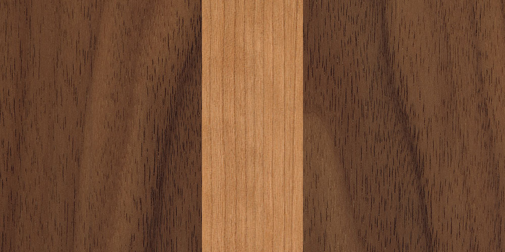 walnut cherry combination real wood veneer sample
