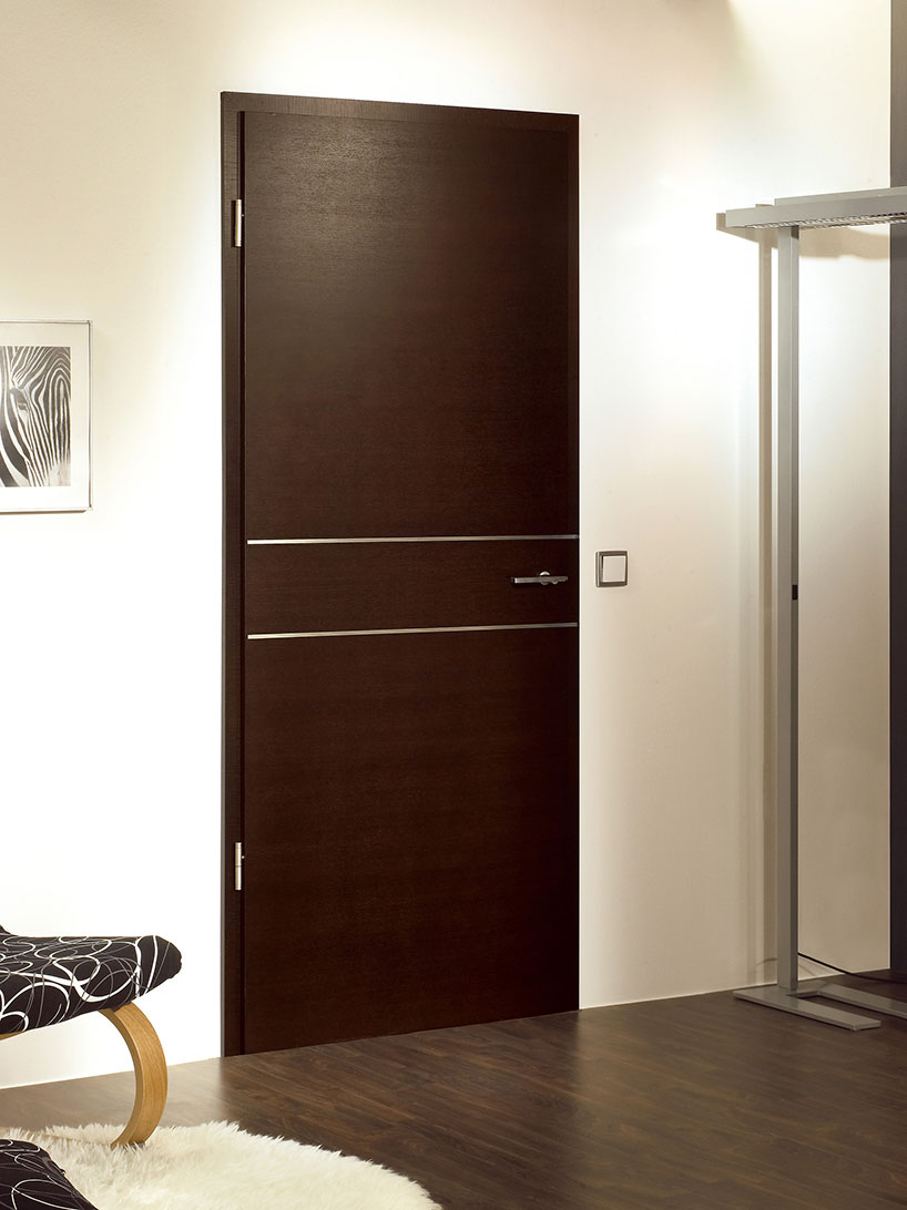 Solid Oak Doors L Dark Oak Chocolate Veneer Finish L