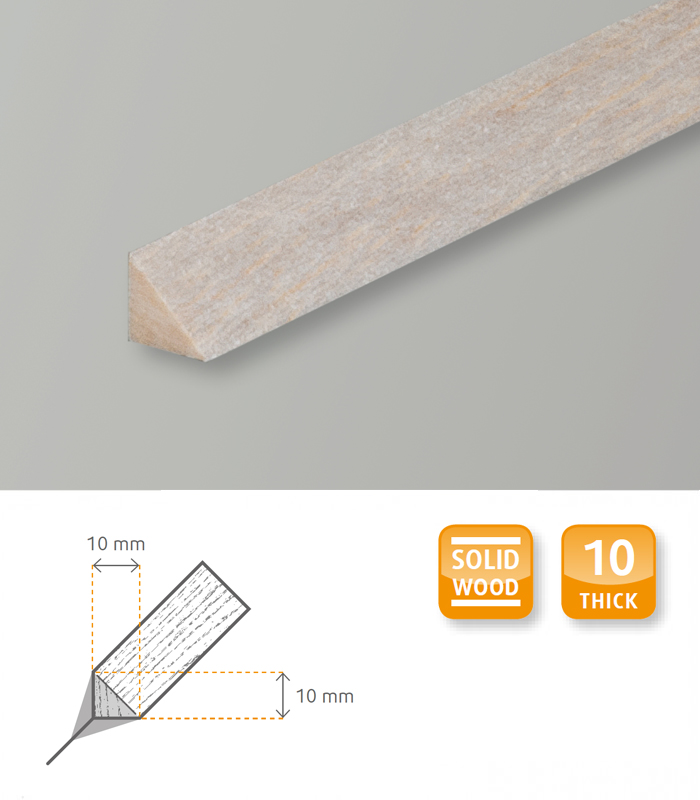 Triangular Craft Moulding Balsa