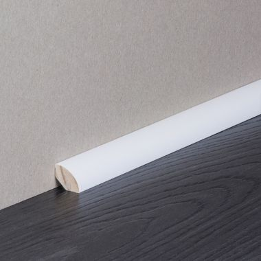 Quarter Round Solid Timber Wrapped Skirting