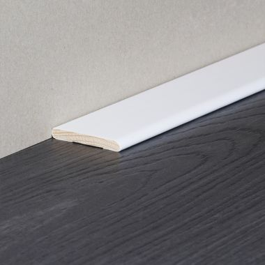 Carpet Trim Solid Timber Wrapped Skirting
