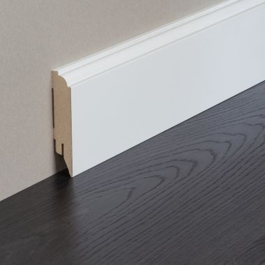 Renovation MDF Primed Foil Skirting