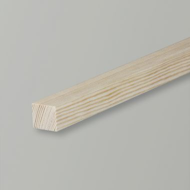 Square Softwood Pine Moulding
