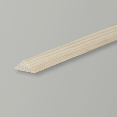 Triangular Softwood Pine Moulding