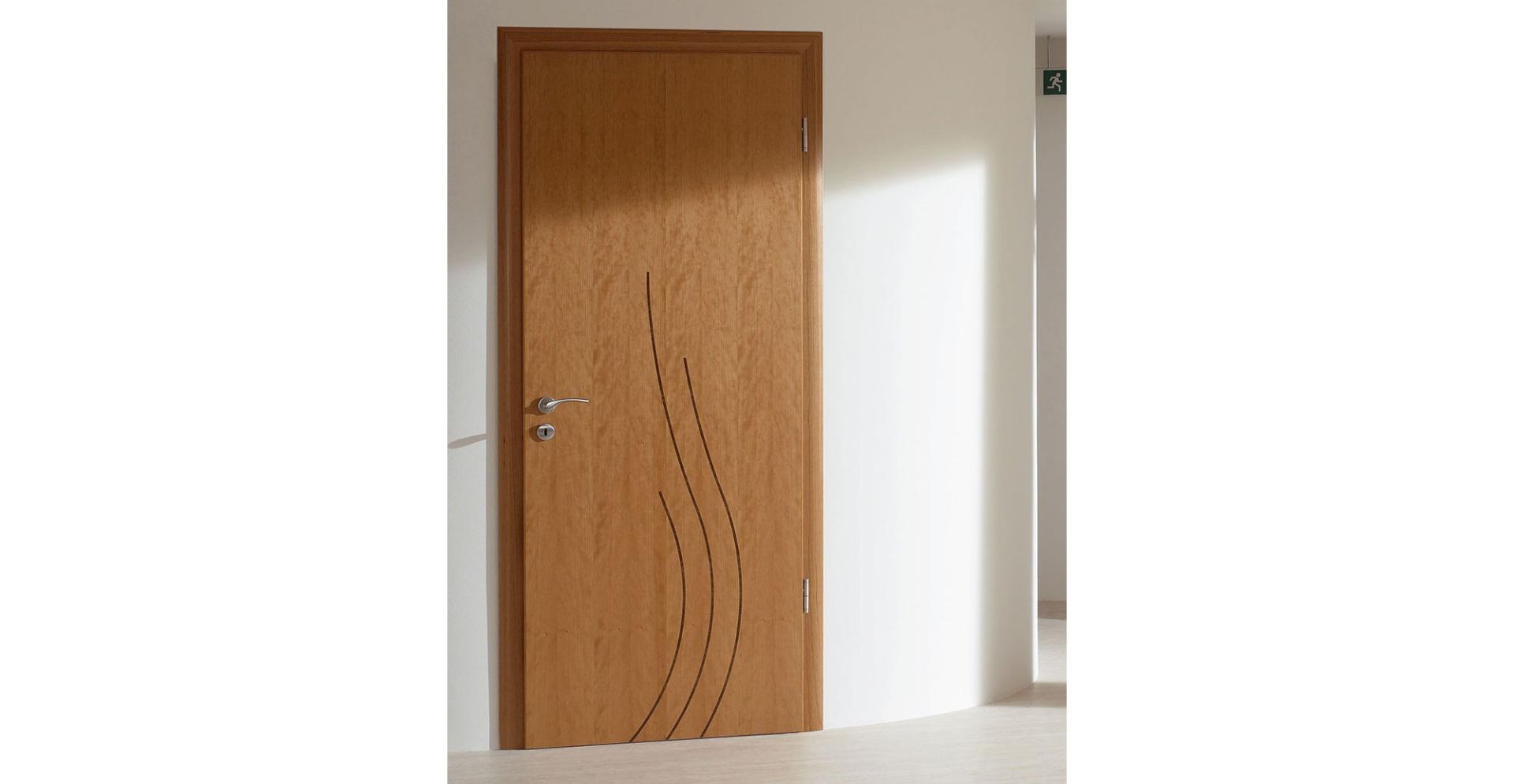 Cherry doors modern interior wooden doors fire for Fire door design uk