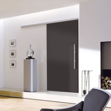 Black Doors - Sliding Black Doors - Anthracite Fire Doors