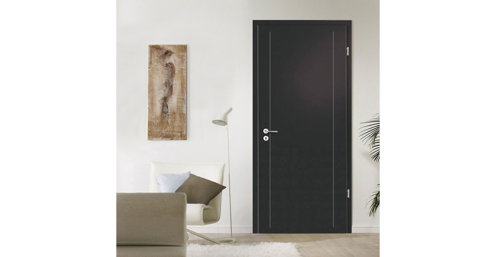 Anthracite Fire Doors