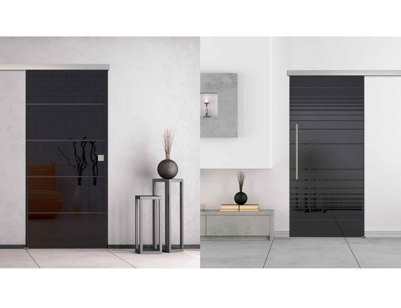 Grey Glass Door Design Smoked Glass Door Doors4uk