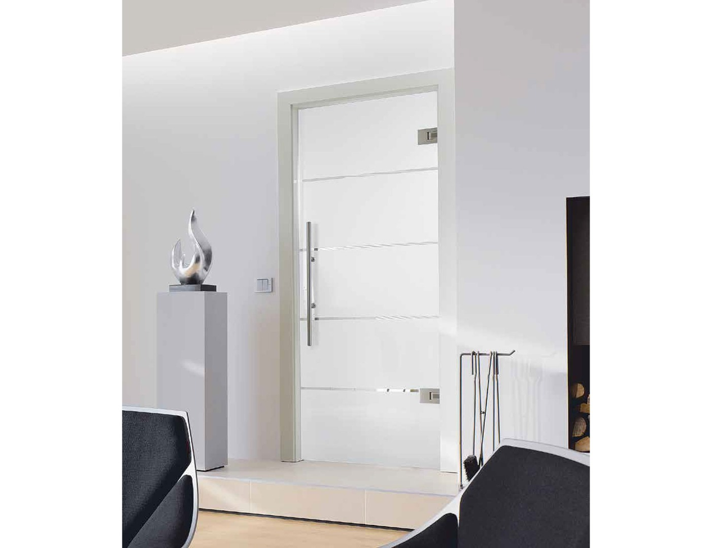 frosted glass wall partitions