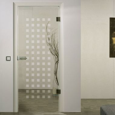 Carre Glass Door Design - Full Glass Door