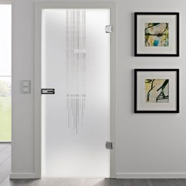 Flow Glass Door Design - Glass Internal Doors