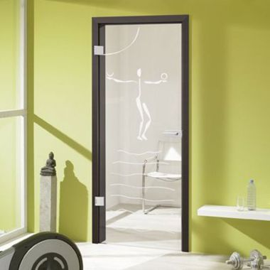 Etno Glass Door Designs - Frameless Glass Door