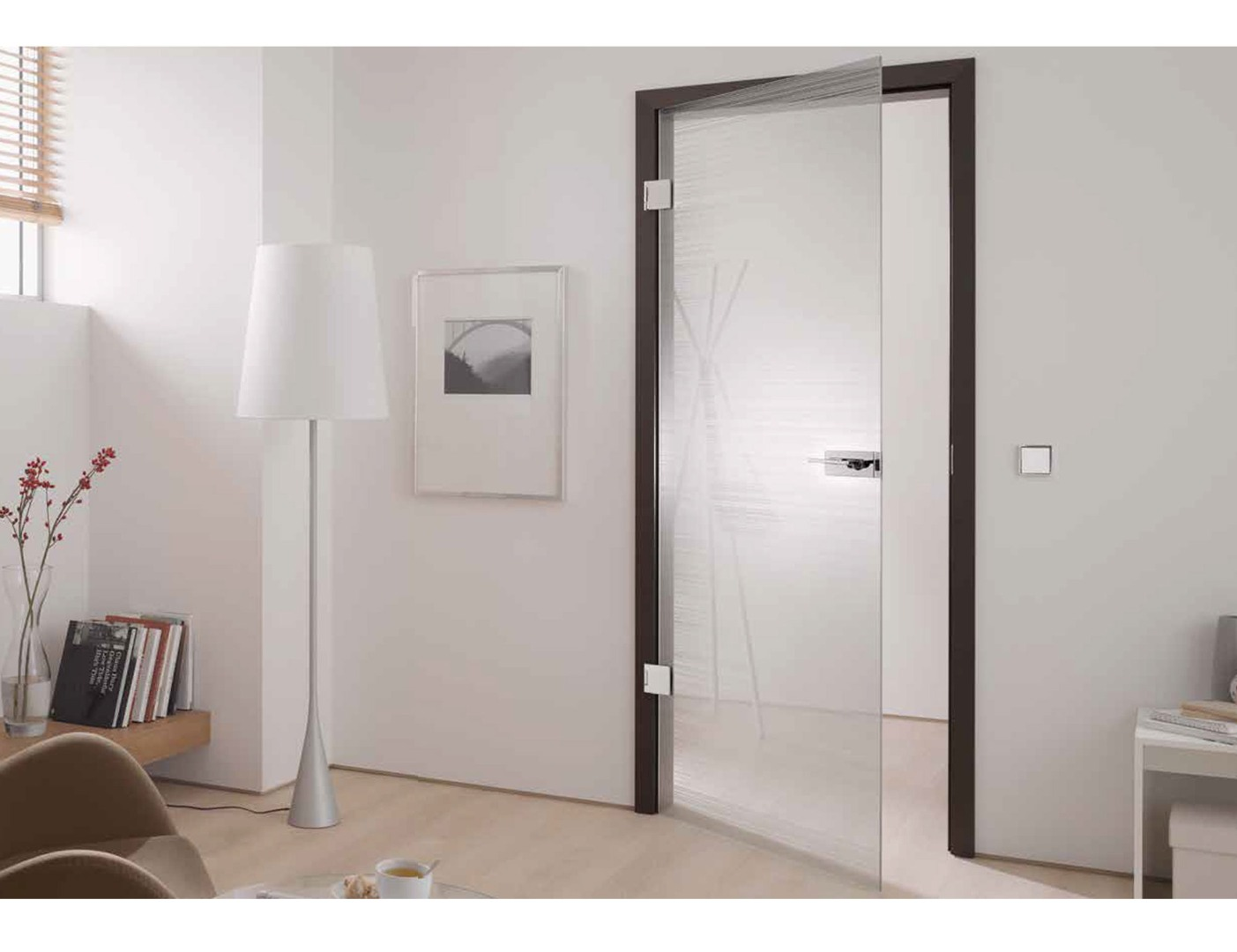 Glass Hinged Door Glass Internal Door Design
