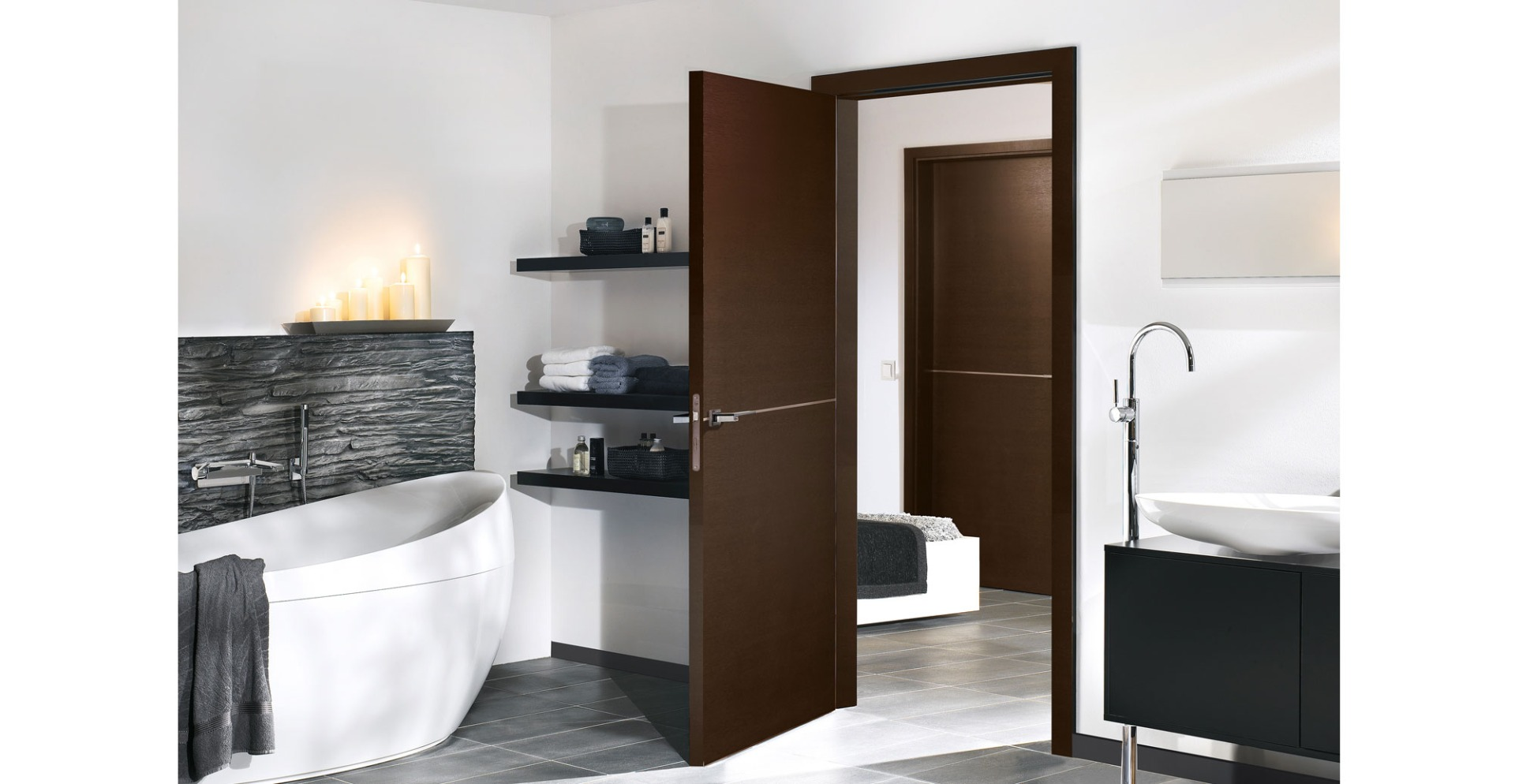 dark oak doors