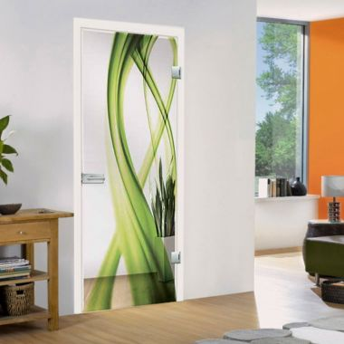 Fluto VSG Laminate Glass Door Design -Pre hung Doors