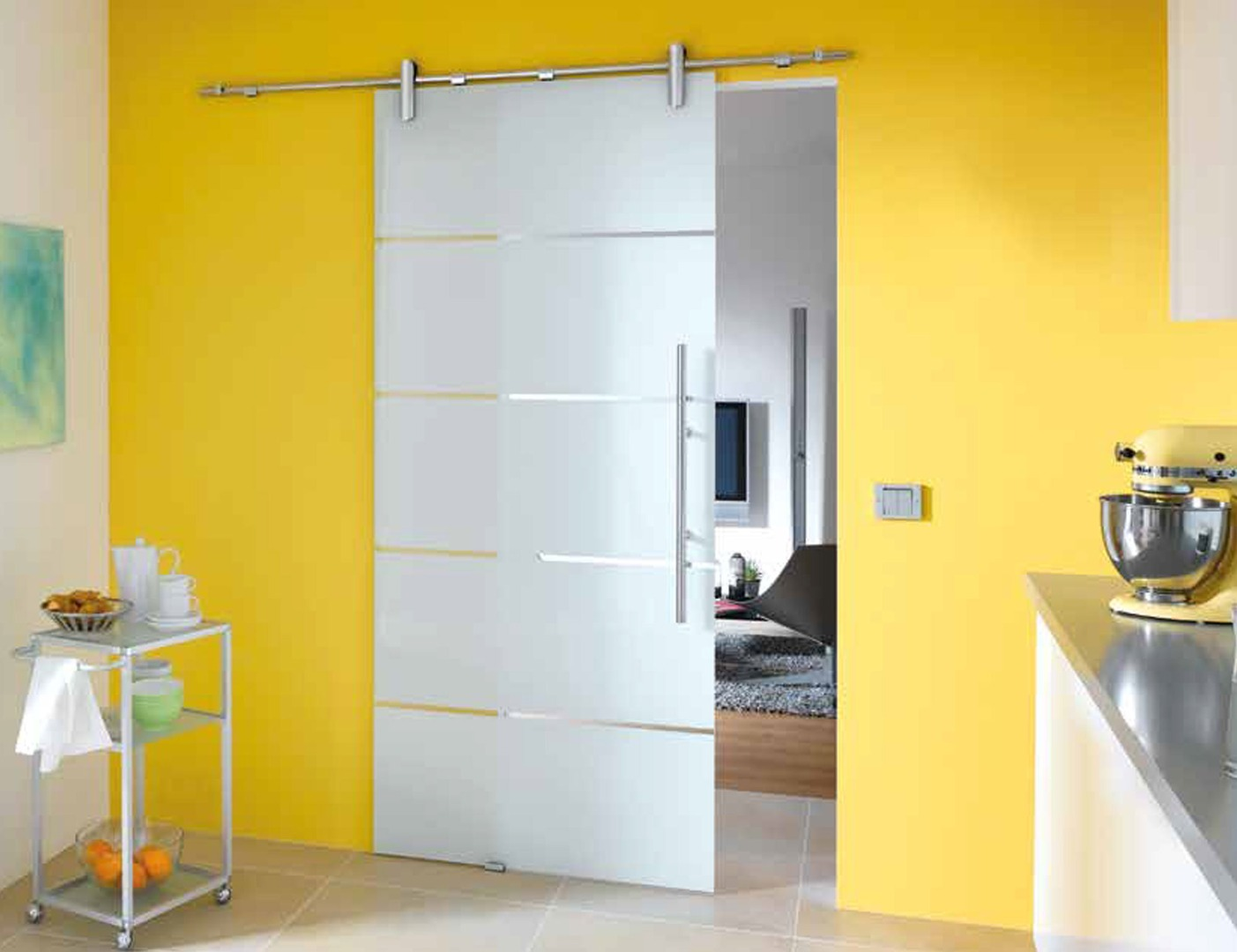Atos Glass Door Design - Glass Sliding Room Dividers