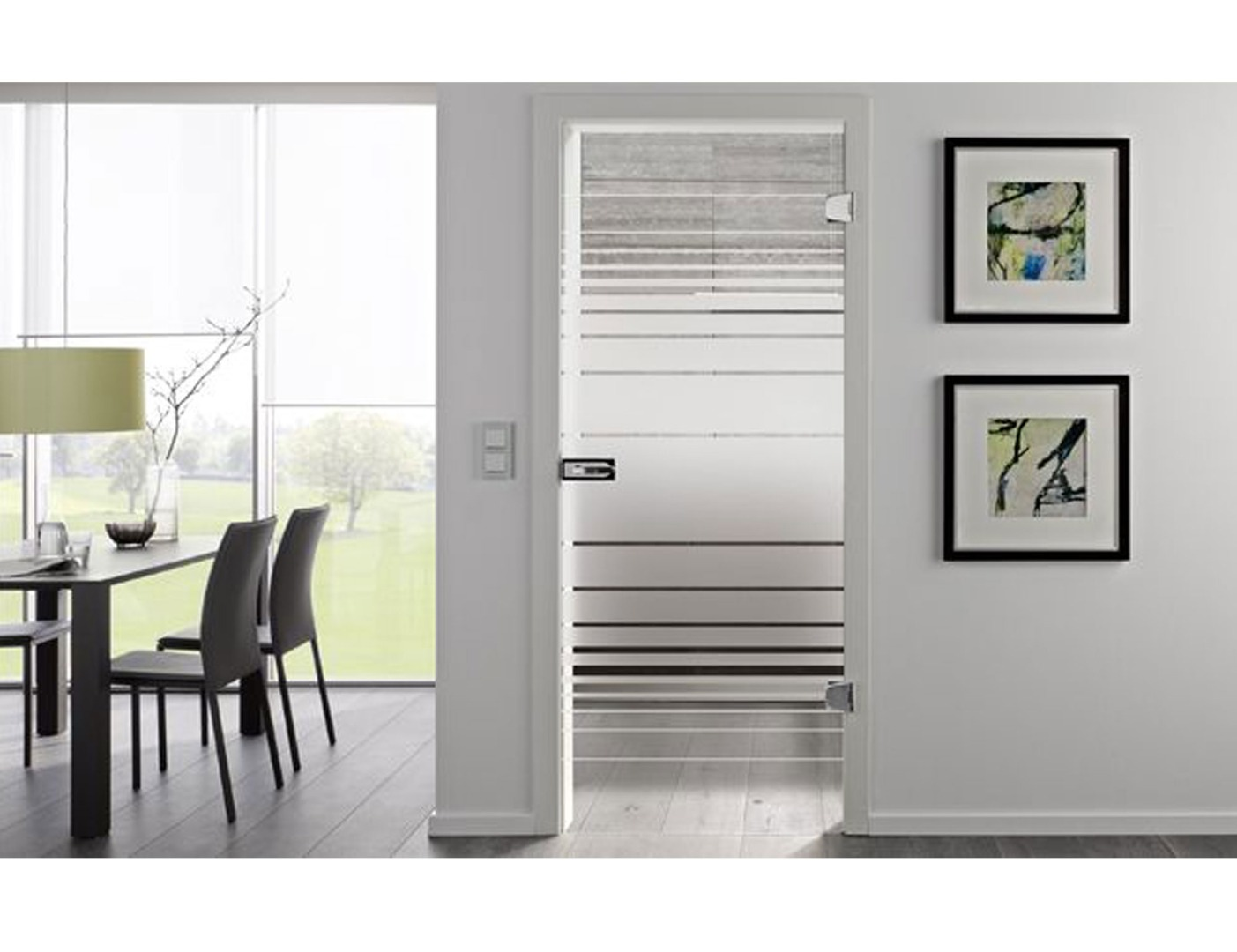 Struktura Glass Door Design - Glass Internal Doors