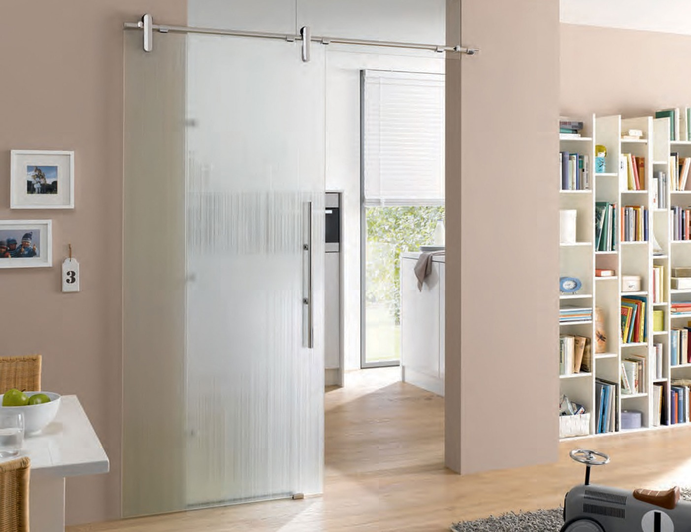 Lista Due Glass Door Design - Room Divider Doors
