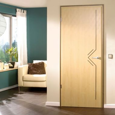 Maple Laminate Doors - Made to Measure Interior Doors