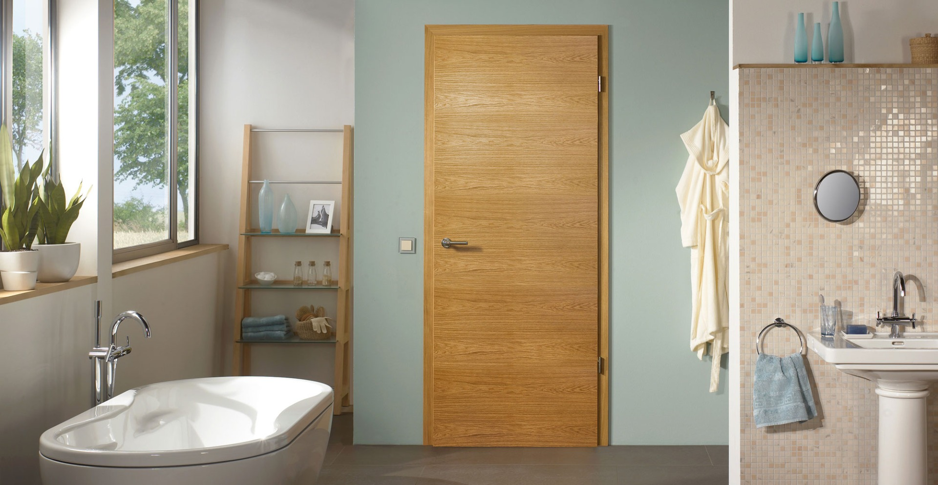 Oak Doors UK - The best selection of Solid and Veneer Wooden Doors