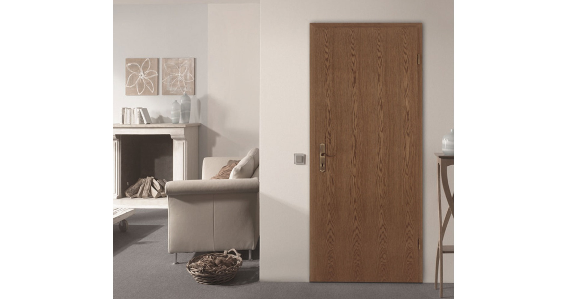 rustic oak doors