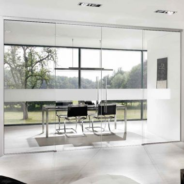 Office Glass Door Design - Room Dividing Doors