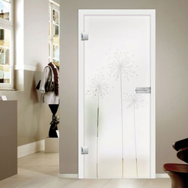 Pusteblume Glass Door Design - Modern Glass Door Designs