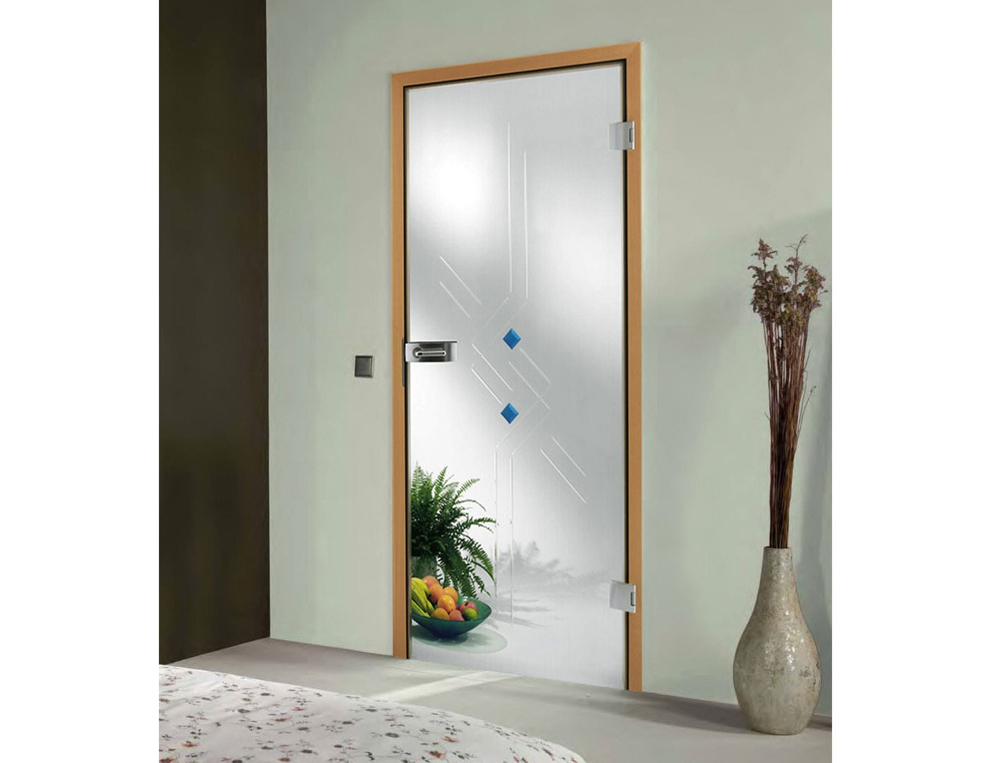Door Design with Glass