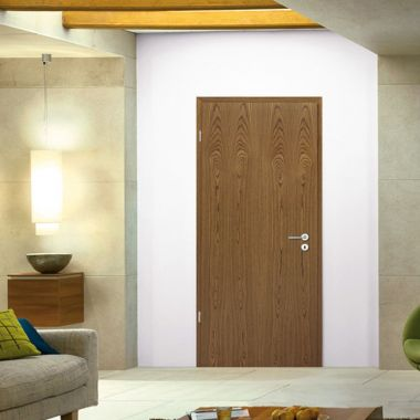 Rustic Oak Doors - Real Wood Veneer Finish