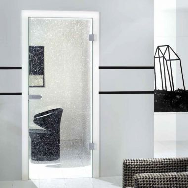 Split VSG Laminate Glass Door Design - Internal Glass Door