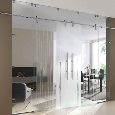 Stream Glass Door Design - Glass Sliding Doors