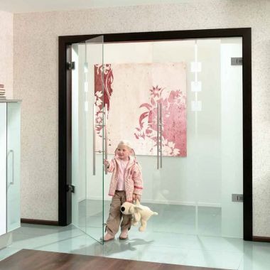 Viva Glass Door Design - Internal Glass Double Doors