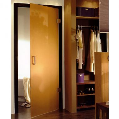 Apricot VSG Laminate Glass Door Design - Frameless Glass Doors