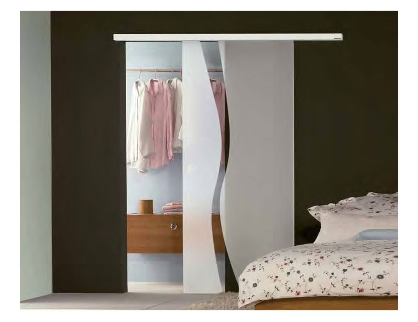 Room dividers doors glass partition wall interior for Types of sliding glass doors