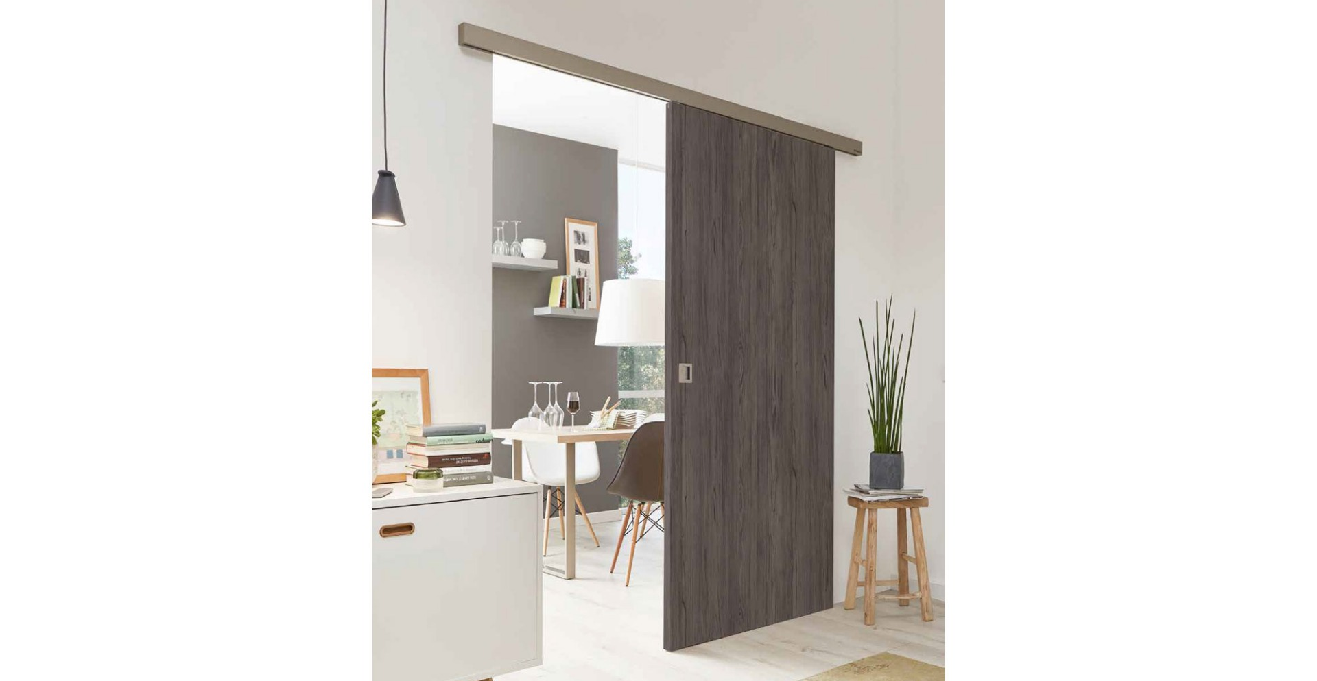 Sliding Wenge doors