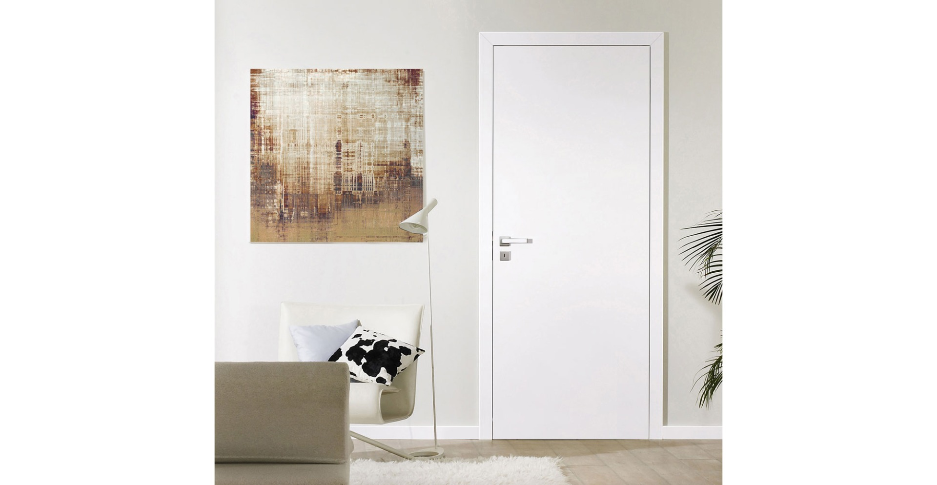 S Plain White Internal Doors